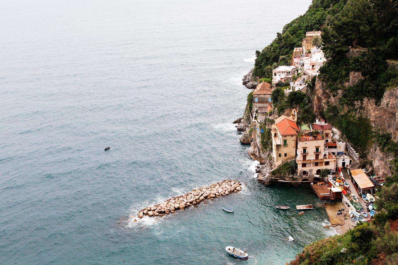 Conca dei Marini an der Amalfiküste