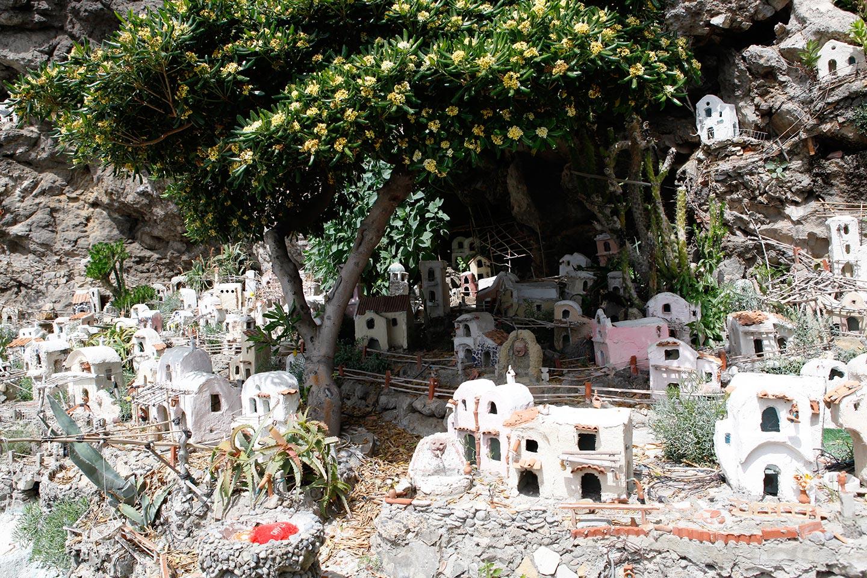 Praiano in Miniatur an der Amalfiküste