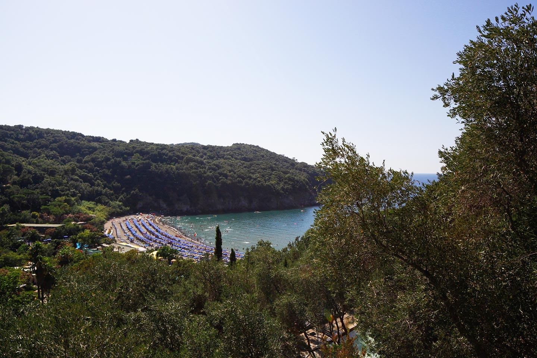 Bucht von San Montano auf Ischia