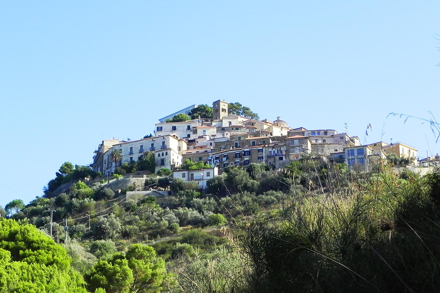 Panorama von Castellabate