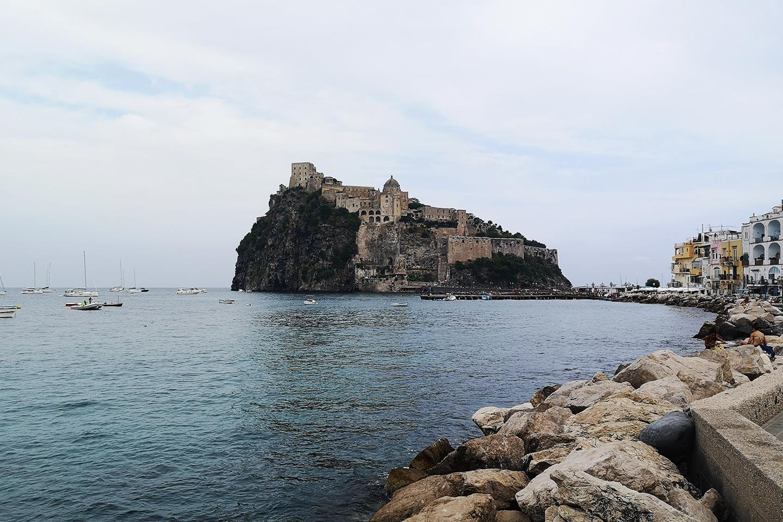 Castello Aragonese bei Ischia Ponte