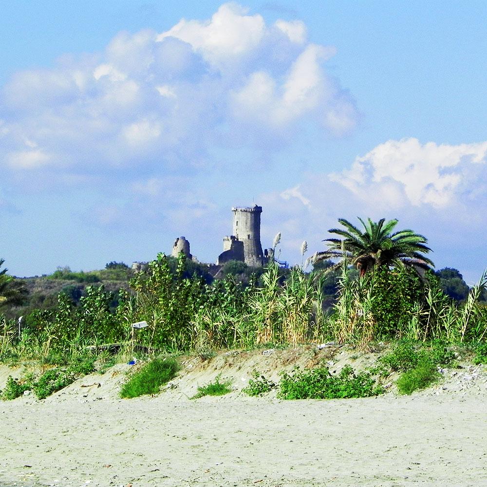 Antike griechische Hafenstadt Velia