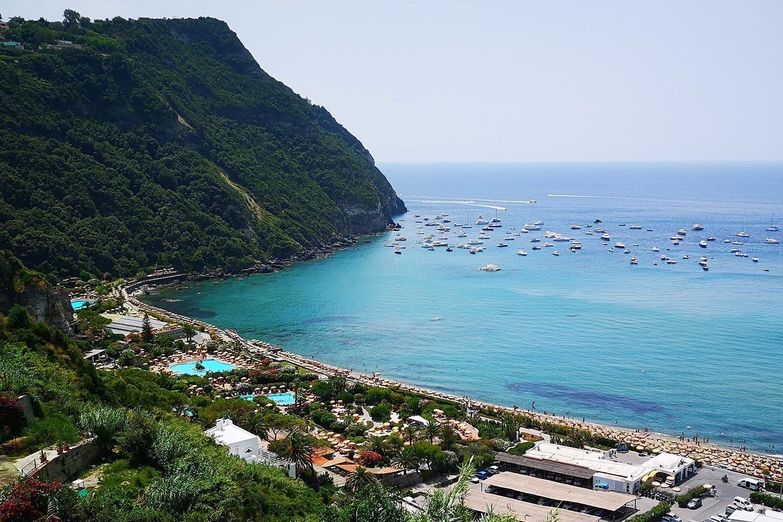 Poseidongarten am Citarastrand auf Ischia