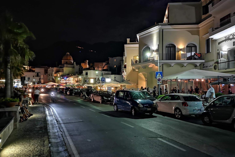 Abends bummeln in Forio auf Ischia