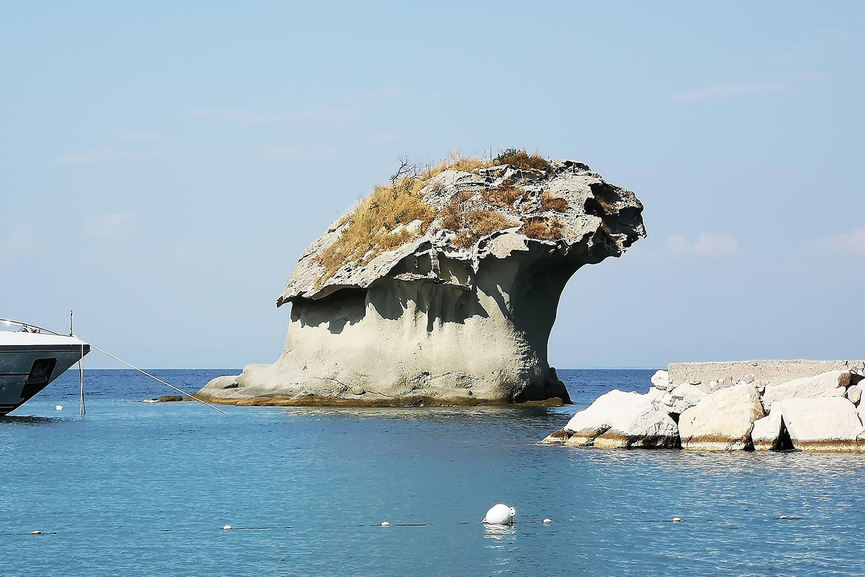 Il fungo - Symbol von Lacco Ameno auf Ischia
