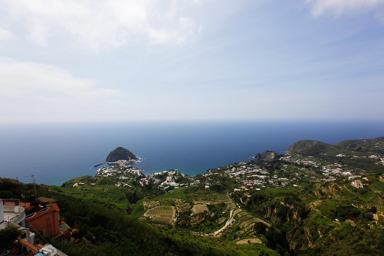 Panorama von Serrara Fontana
