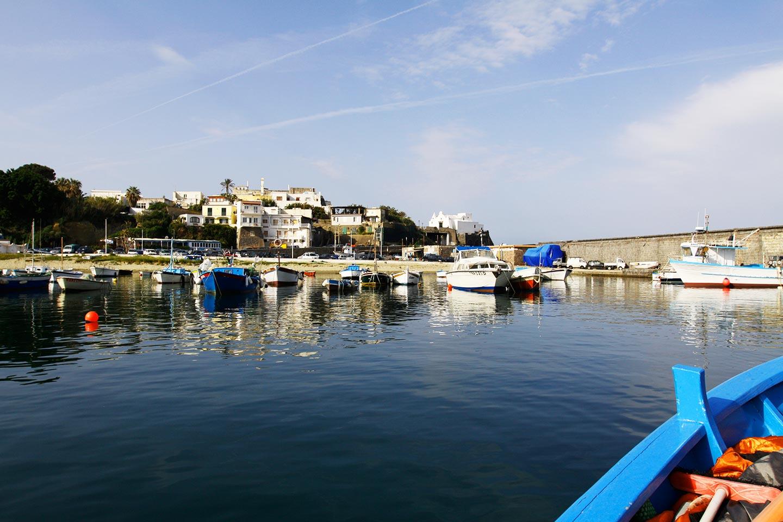Die Hafenstadt Forio