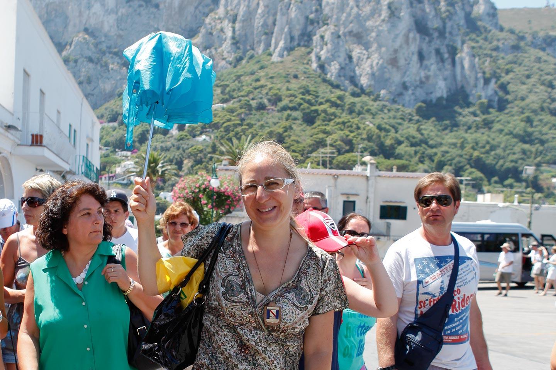 Mit Floriana nach Capri