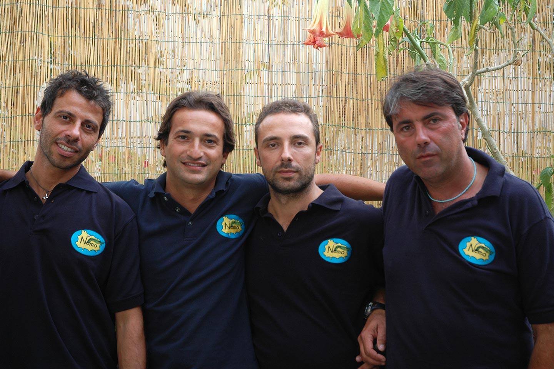Nemo - eine Gruppe von Meeresbiologen auf Ischia
