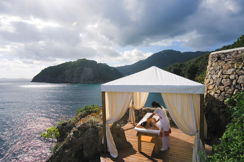 Wellness im Hotel Mezzatorre auf Ischia