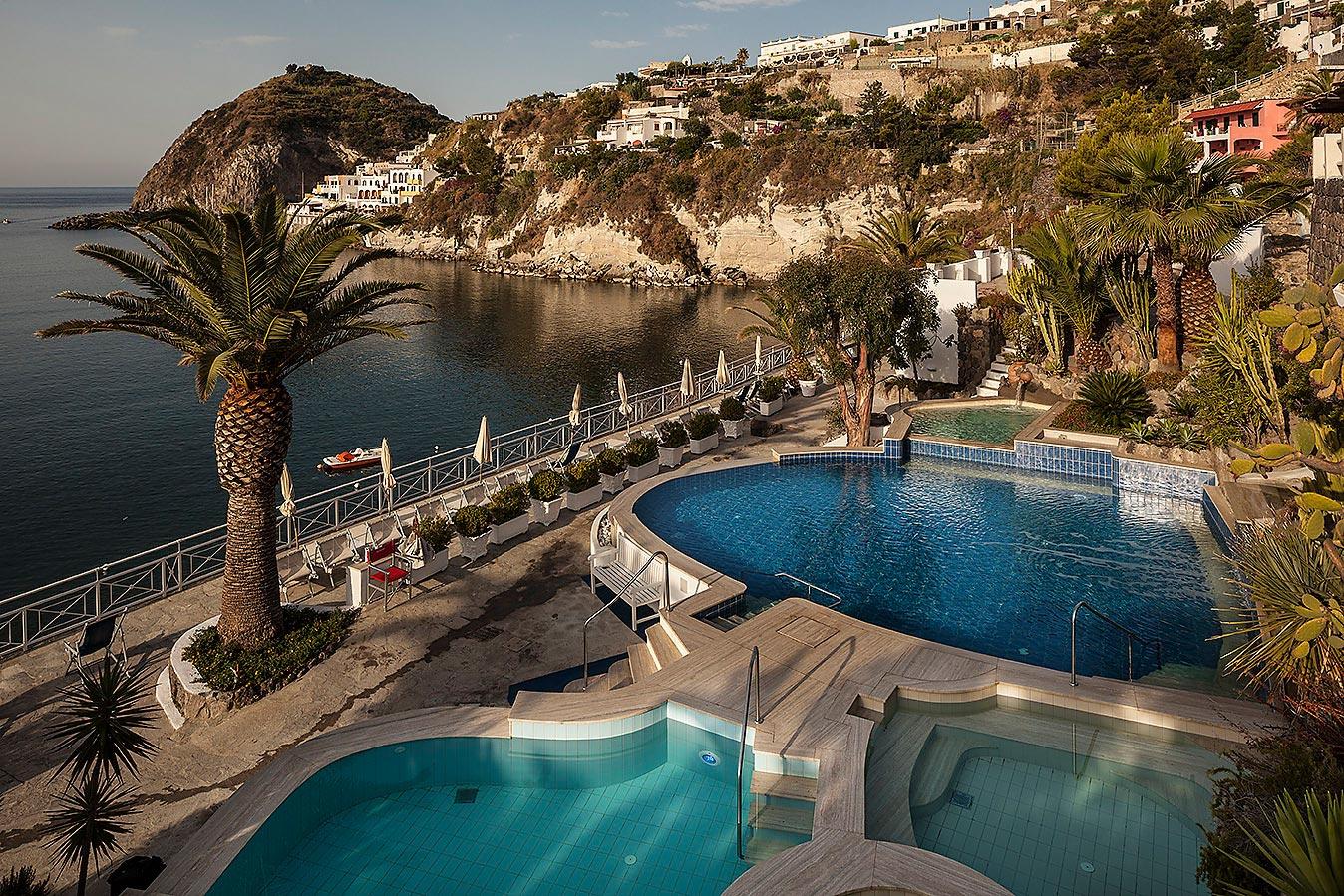 Kuren im Hotel Miramare auf Ischia