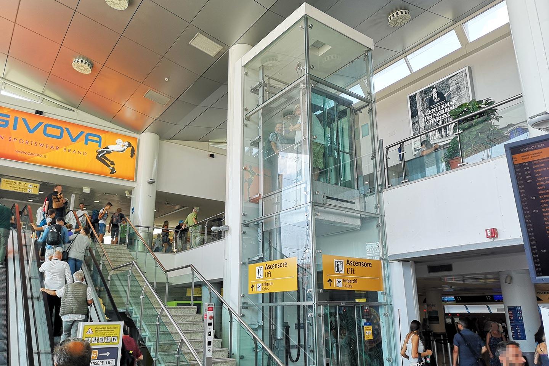 Flughafen Capodichino in Neapel