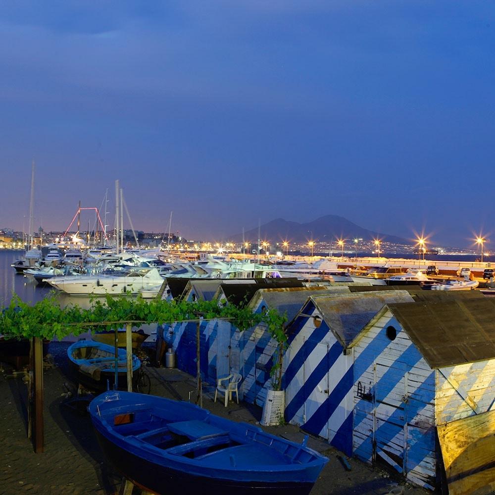 Hafenpanorama von Mergellina