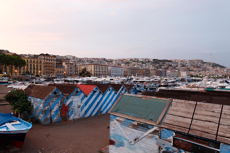 Hafen Mergellina und Via Caracciolo