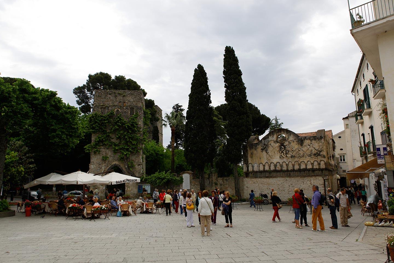 Ravello Zentrum mit Villa Rufolo