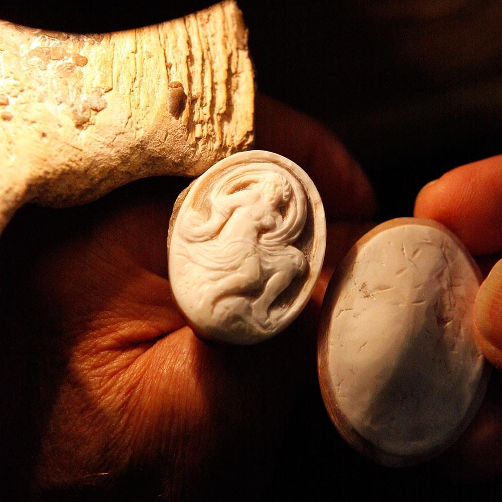 Pompei Kamee