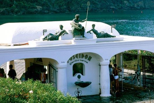 Poseidon, Gott des Meeres auf Ischia