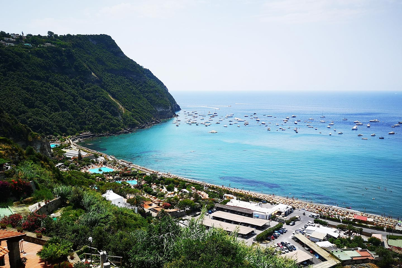 Die Thermalanlage Poseidongarten auf Ischia
