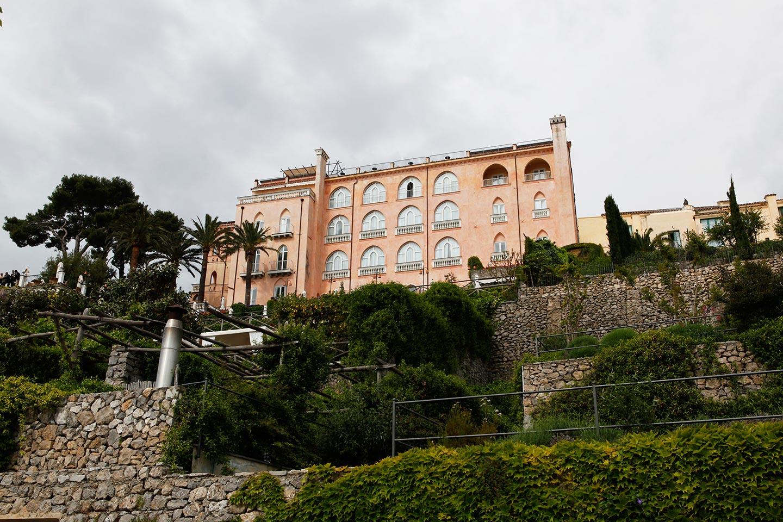 Palazzo Sasso - historisches Gebäude 12. Jahrhundert in Ravello