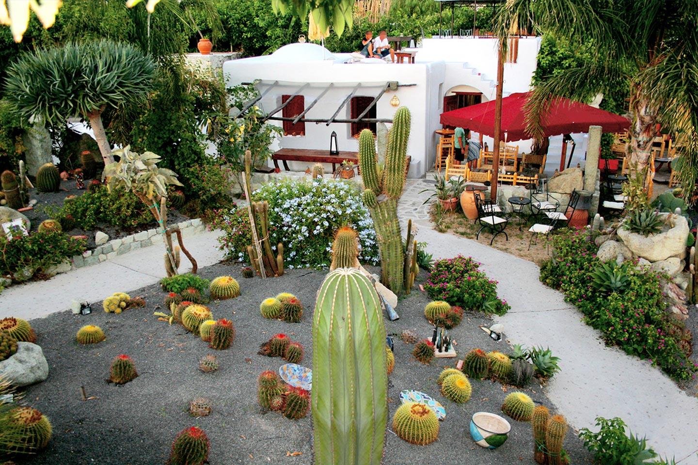 Der Loungebereich in Giardini Ravino auf Ischia