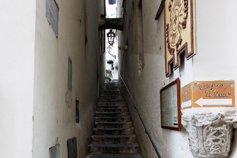 Treppenweg Truglio in Amalfi