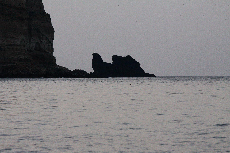Von Poseidon versteinerte Galeere