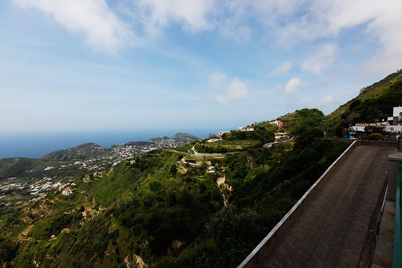 Insel Ischia Panorama von Serrara