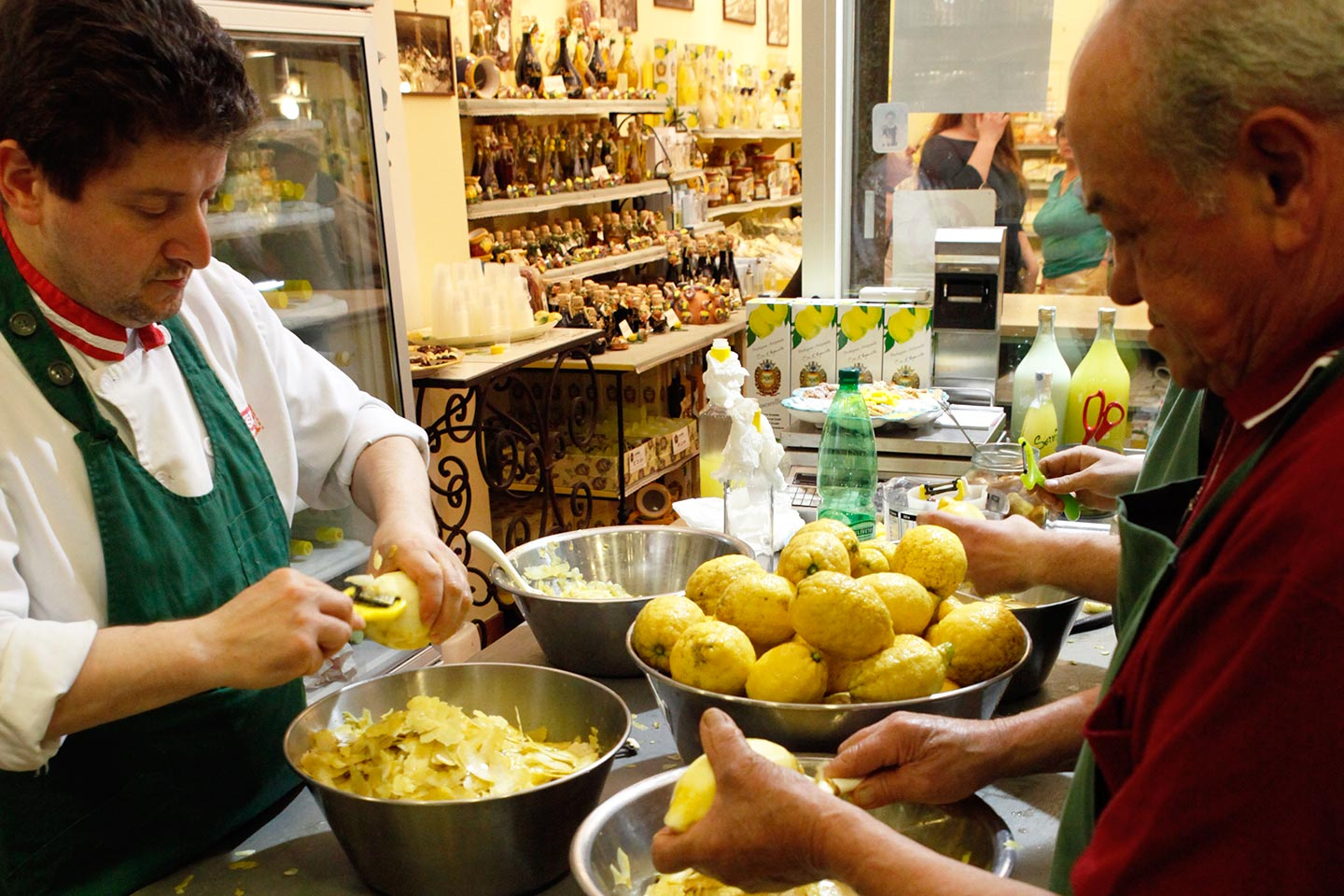 Limoncello Shop in Sorrent